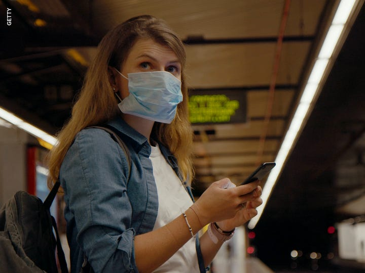 As the U.S. surpassed 220,000 COVID-19 deaths, the Centers for Disease Control and Prevention issued new guidance about wearing masks while traveling.