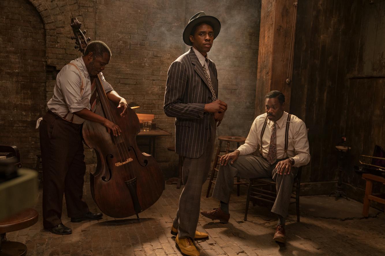 Viola Davis talks  healing  musicChadwick Bosemanplayed making  Ma Rainey s Black Bottom