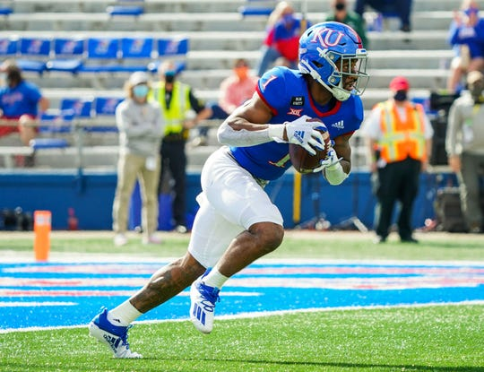 Kansas running back Pooka Williams Jr. announced he is opting out of the remainder of the 2020 college football season.