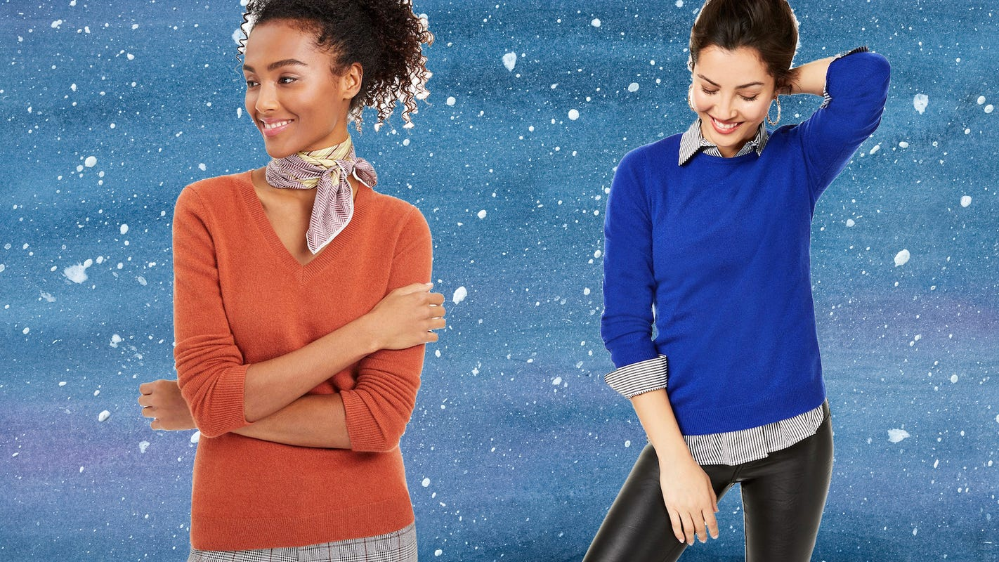 Cashmere sweaters are more than 70% off at Macy's for Black Friday 2020