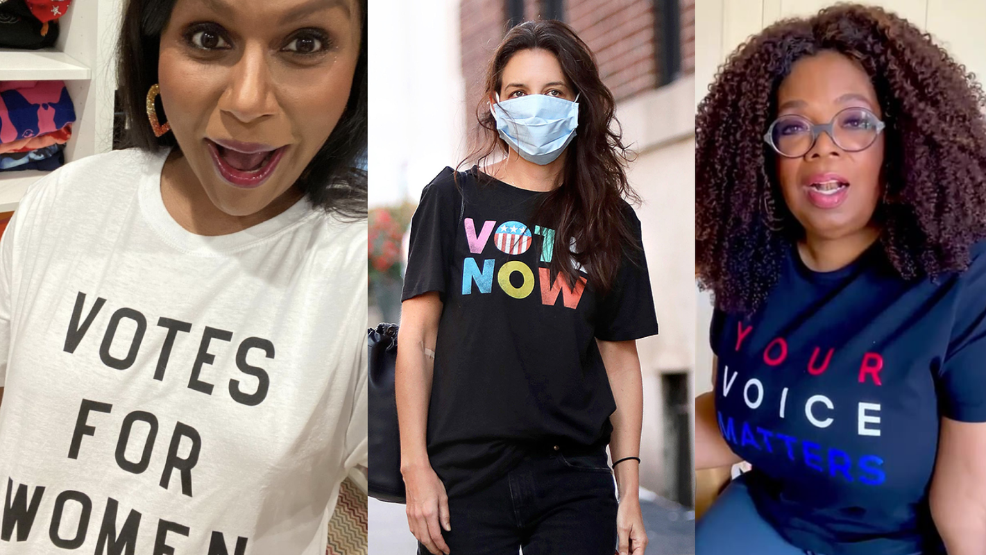 Where to buy 'vote' merch, as seen on Taylor Swift, Michelle Obama, and more