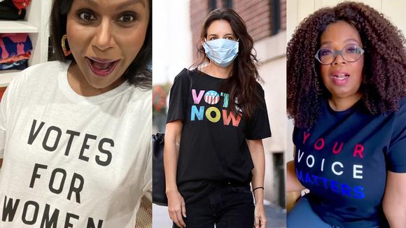 Celebrity vote apparel