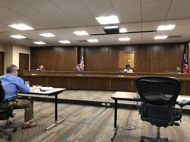 The Amarillo ISD Board of Trustees met Monday evening for its monthly meeting