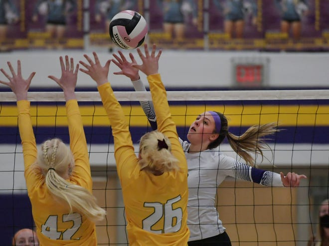 Sophomore Lily Goos has come back from an injury and COVID-19 quarantine to become a dominant force as an all-around performer for the Nevada volleyball team this season. Goos and the Cubs take on No. 2 Clarion-Goldfield-Dows in the Class 3A regional semifinals Wednesday at Clarion.