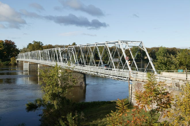 The Washington Crossing free bridge will be closed from 9 p.m. to 10 p.m. Wednesday.