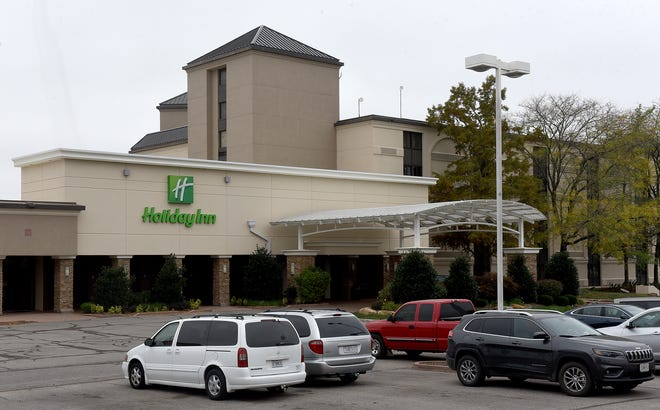 The Holiday Inn Executive Center at 2200 Interstate 70 Dr SW.