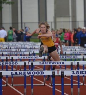 Jenna Lucas broke the high jump record at Watkins Memorial High School.