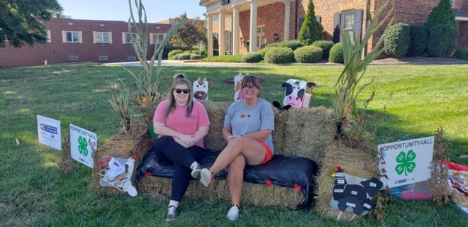 Pictured, from left, are Allison Walker, Randolph County 4-H agent, and Jody Terry, Randolph County 4-H program assistant.