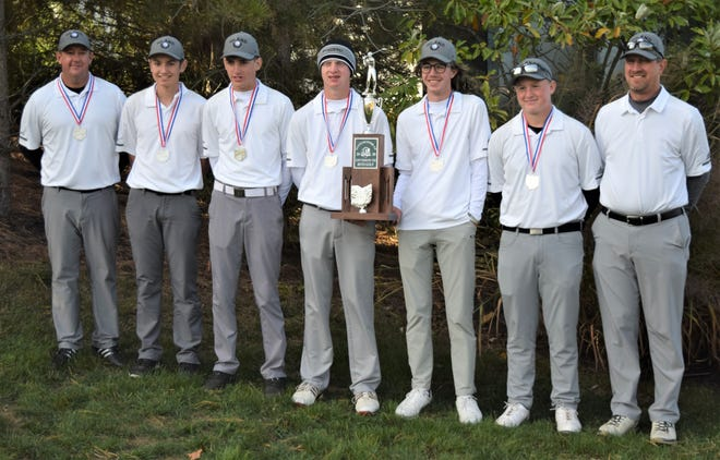 Hiland finished second as a team at the Div. III State Golf Championships in 2020, a year after winning the Div. III state title.