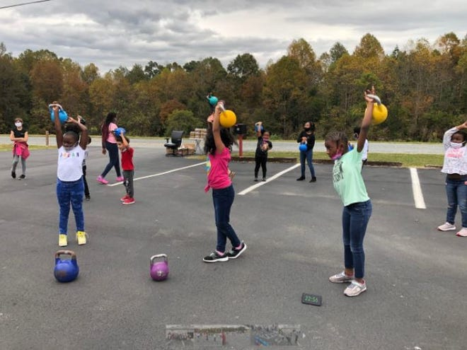 The Salvation Army of Davidson County hosted a kettlebell sport lifting demo day for its Boys & Girls Club kids on Oct. 16.