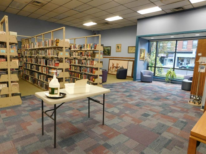 A survey is available at the Frank J. Basloe Library and on its website asking for input to help with the development of a long-range plan for the library. One of the questions asks for opinions on the recent renovations at the library.