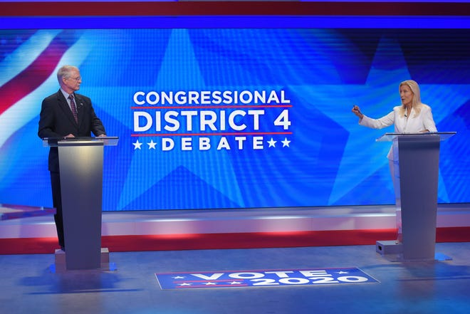 U.S. Rep. John Rutherford, R-Jacksonville, and Democratic challenger Donna Deegan met in a televised debate in the run-up to the Nov. 3 election for the 4th Congressional District.