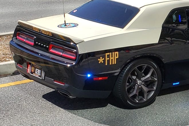 A Florida Highway Patrol car.