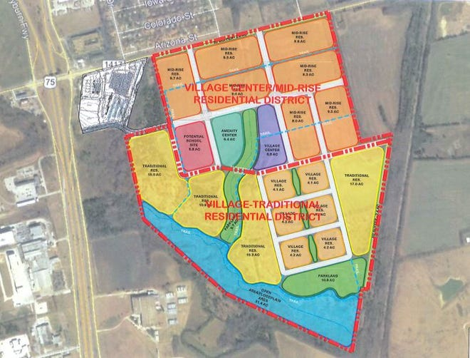 The city of Sherman will contract with MuniCap Inc. to create a Public Improvement District, which will help finance public amenities in the proposed Bel Air development along FM 1417.