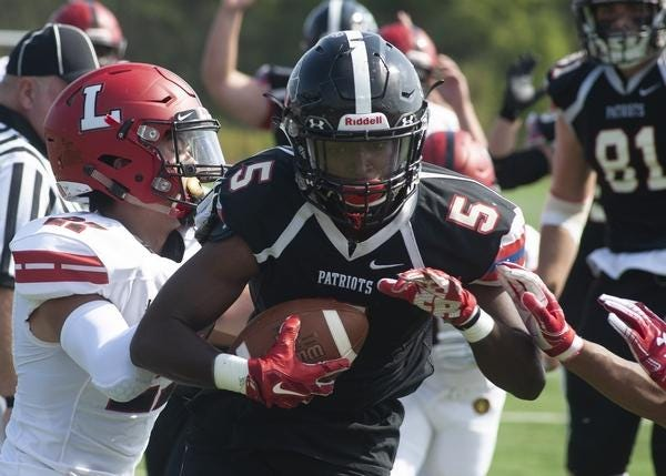 Germantown Academy senior Jerry Griffen-Batchler and the rest of the Patriots are gearing up for the start of their four-game season on Halloween.