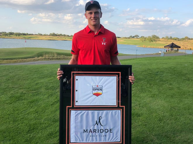 After recording 10 birdies and 36 pars, Kyle Hogan finished 1-under to claim the Maridoe Collegiate Invitational and secure an exemption to play in the PGA Tour's Vivint Houston Open.