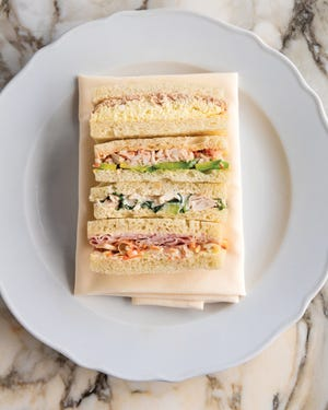 """In addition to desserts, breads and coffee drinks, """"Sant Ambroeus: The Coffee Bar Cookbook"""" features light sandwiches."""