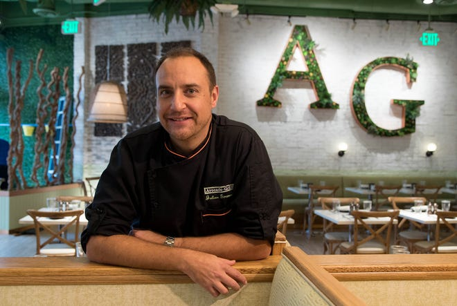 Julien Gremaud, owner of and chef for Avocado Grill