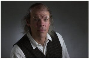 Channing Gray in 2001, when he became The Journal's performing-arts writer.