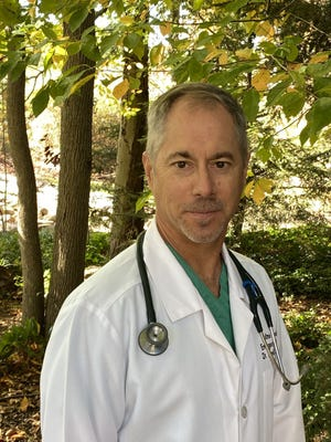 Dr. Ronald Rusnak Jr. is seeking to become Stark County's new coroner. He is running against incumbent Dr. Anthony Bertin. Submitted photo