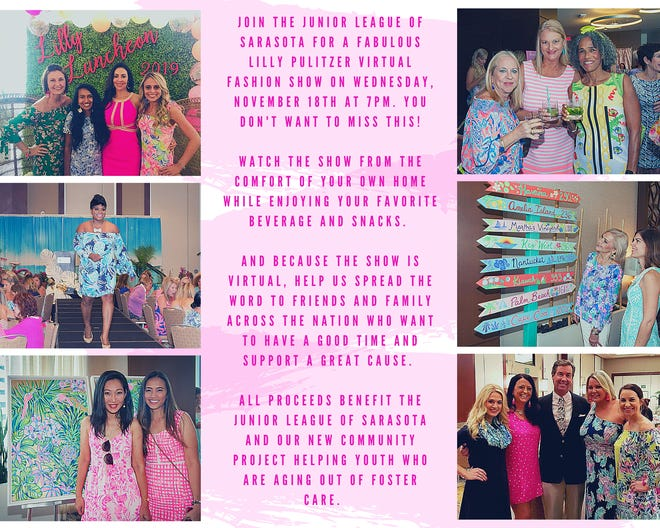 The Junior League of Sarasota is hosting a virtual Lilly Pulitzer fashion show in November 2020.