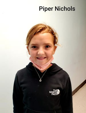 Piper Nichols of Cape Fear Elementary is Pender County's Student of the Week.