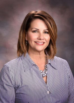 Suzanne Owen at Cliffdale Elementary School is the 2020 principal of the year for Cumberland County Schools. [Contributed photo]