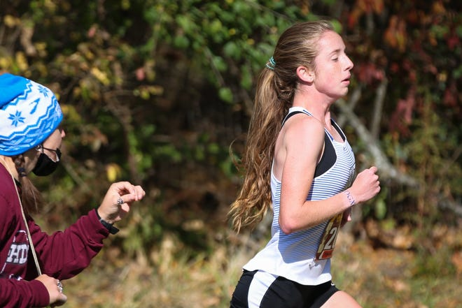 Caitlyn Jones captured the OCC-Central individual title Oct. 17 at Westerville North to become the sixth Davidson girls runner in seven seasons to win a league title.