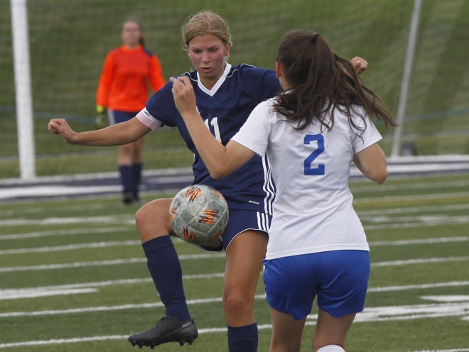 Senior Lindsey Bertani switched from being a center-midfielder to a defensive center-back, and that helped spark the Grandview Heights girls soccer team's run to a Division III district final Oct. 31 against Columbus Academy.