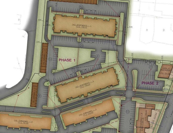 Here are plans for a $15 million mixed-use development to be built in Lebanon.