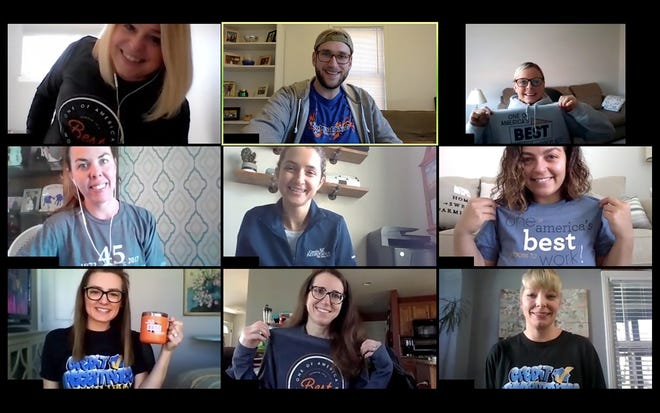 Company spirit shines even while working remotely.