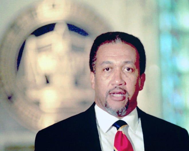 Former NAACP executive director Benjamin Chavis Jr.