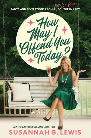 """The cover of Susannah Lewis' book, """"How May I Offend You Today?"""""""