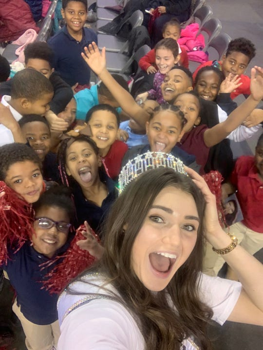 Miss Indiana USA Alexis Lete had about three months in her role before it closed, and she had big plans to attend as many schools as possible. Your message to children is very simple