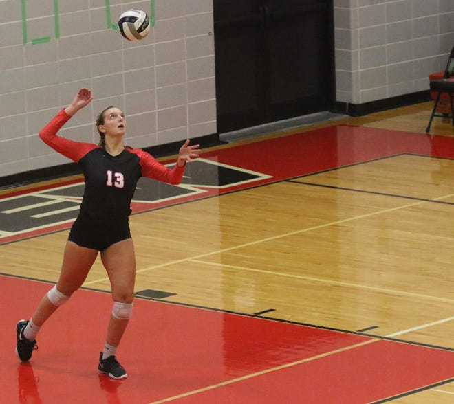 Crestview's Kenedi Goon became the first Firelands Conference Volleyball Player of the Year for Crestview in 24 years.