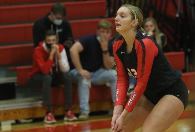Crestview's Kenedi Goon is the 2020 Mansfield News Journal Volleyball Player of the Year.