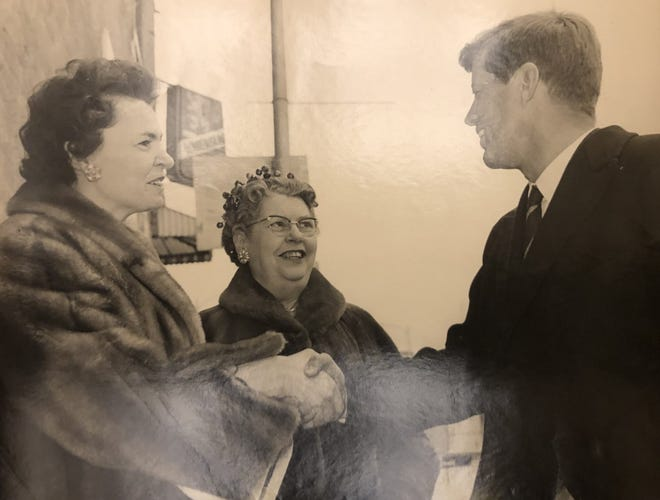 John F. Kennedy, then a senator, visited downtown Oconomowoc for a campaign stop in 1960. Kennedy would go on to win the presidential election later that year.