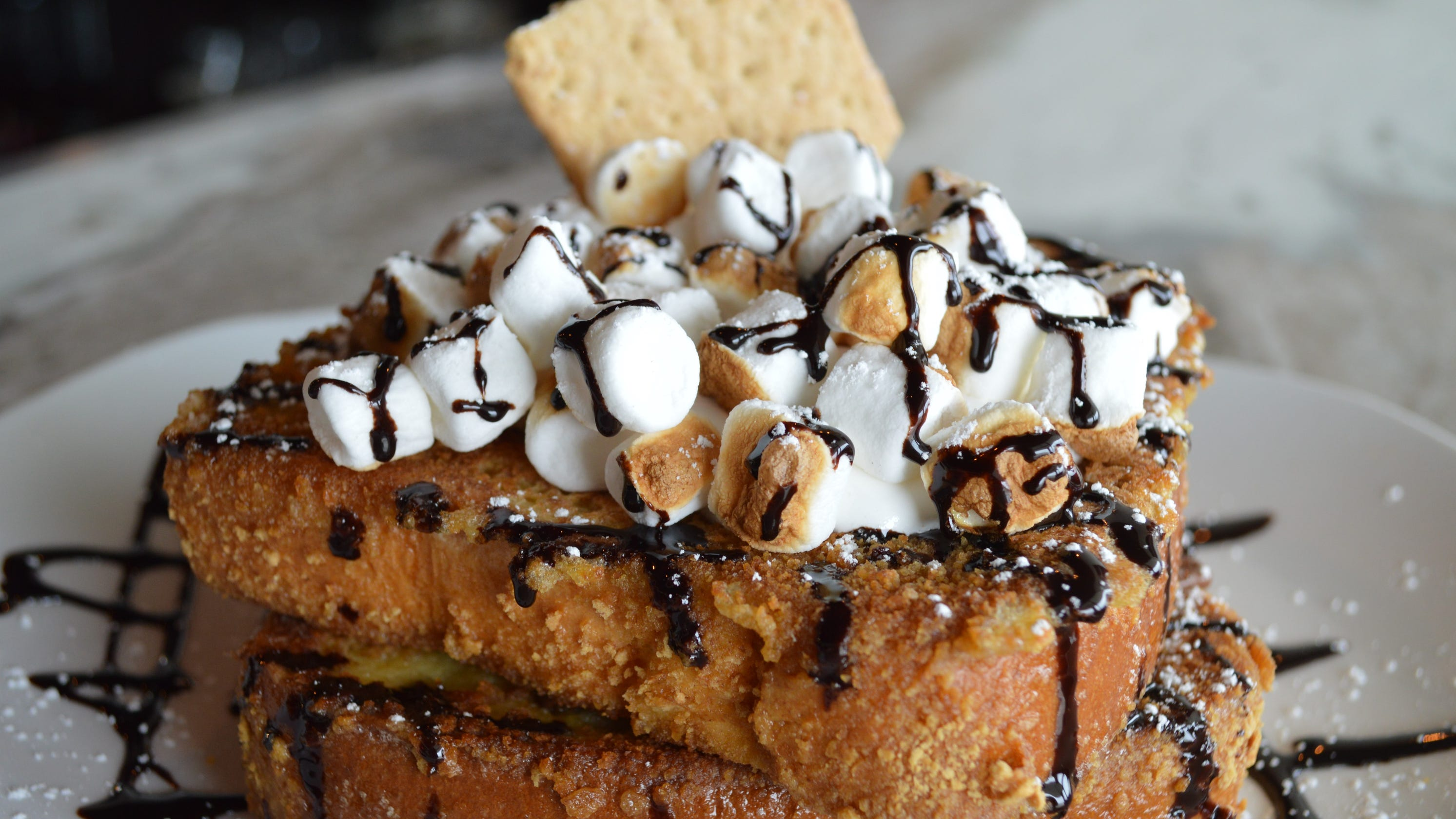 Honey Butter Cafe, a new breakfast and lunch spot in Franklin, has an Instagram nook and s'mores french toast