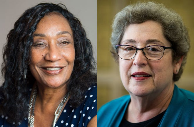 Dr. Ann Roy Moore, left, is the superintendent of Montgomery Public Schools. Clare Weil is the president of the Montgomery County Board of Education.