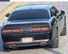 Police are seeking information about this stolen car and the suspects responsible for taking it during a robbery in the 4000 block of Amesbury Drive October 10.