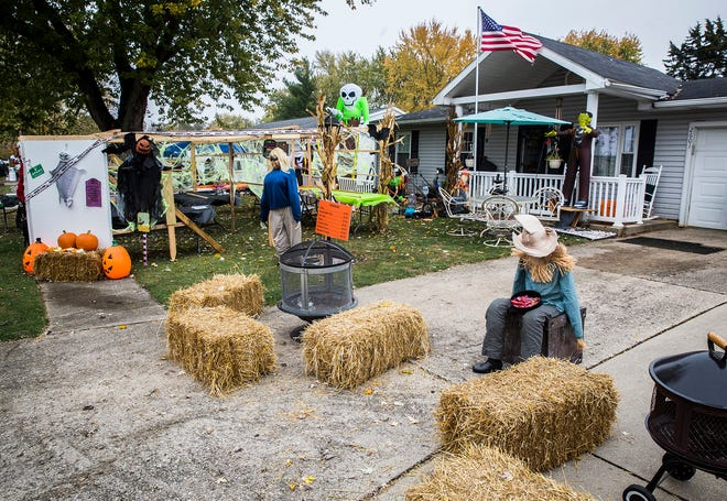 The Wyatt family is hosting a Halloween house party Oct. 31 for Lindsay Hollars, a nurse who suffered a stroke earlier this year.