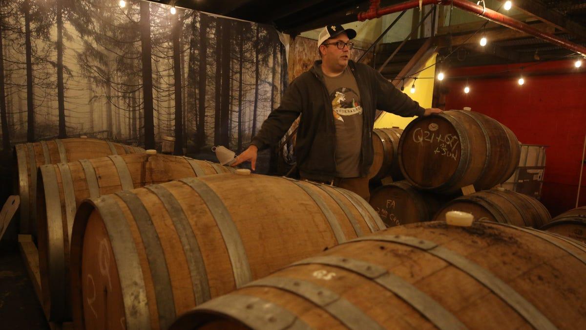 Franklin beermaker begins lambic brewing process for 2021 season