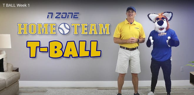 N Zone Sports of America has launched an eight-week interactive T-ball video series designed to be played in the safety and convenience of home.