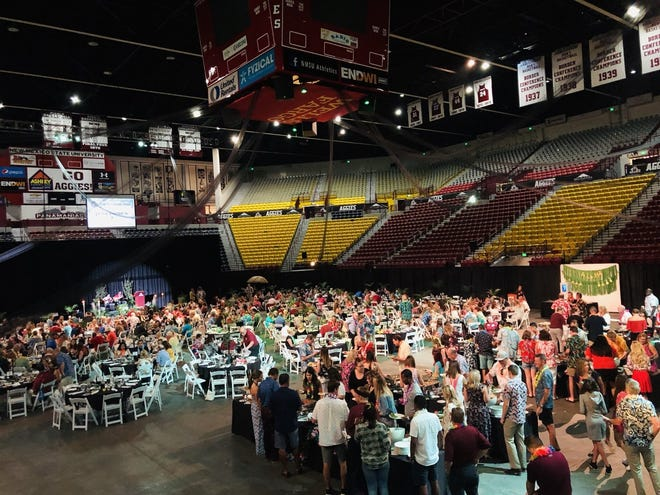 This year's Aggies in Paradise fundraiser moved off campus amid COVID-19 concerns.