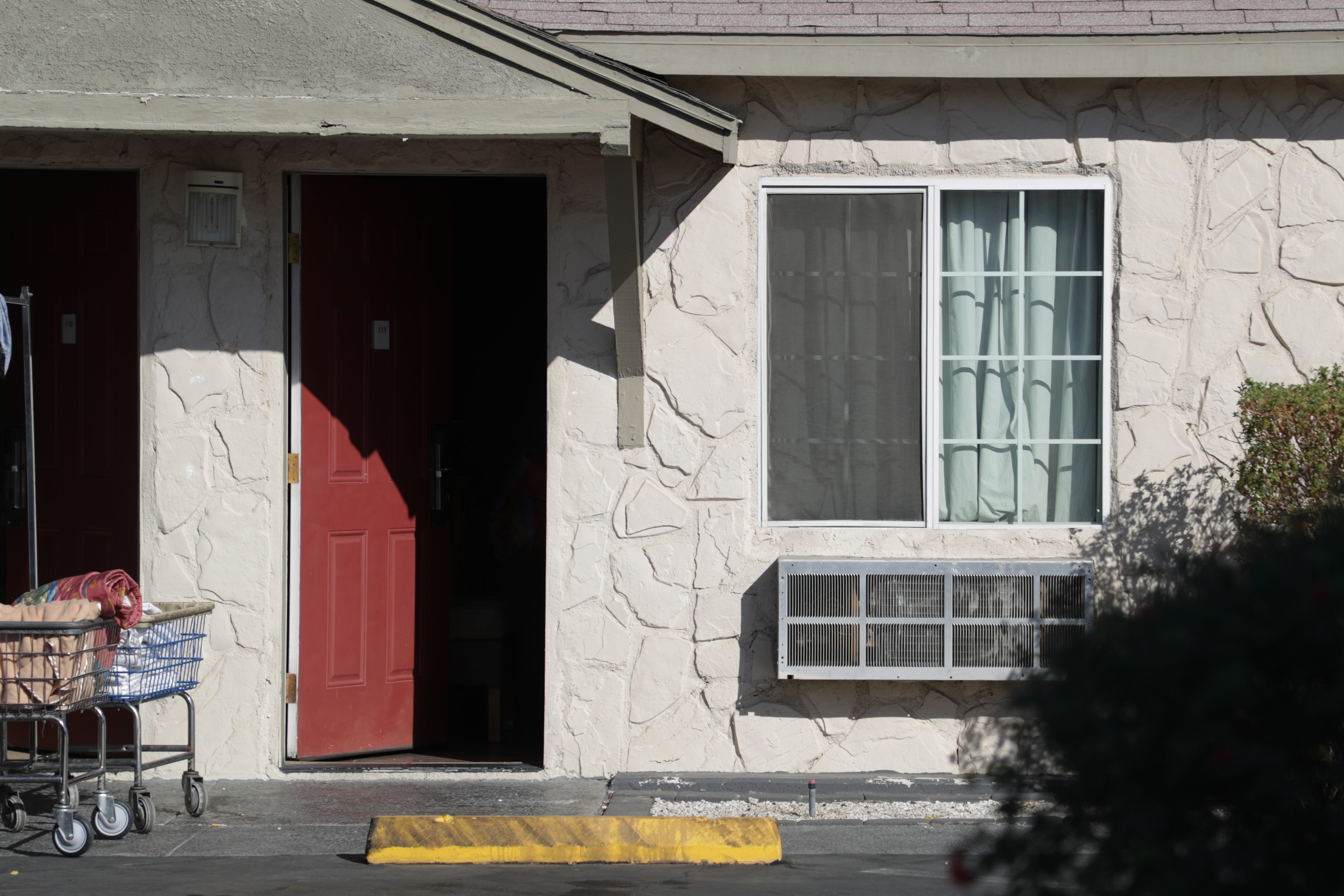 Rodeway Inn & Suites in Indio, Calif. partnered with the state for Project Roomkey, an effort by the state to house individuals experiencing homelessness during the COVID-19 pandemic.