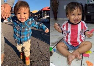Sebastian Duran, 1, died after he was shot in a drive-by shooting in Mesa on Oct. 16, 2020.