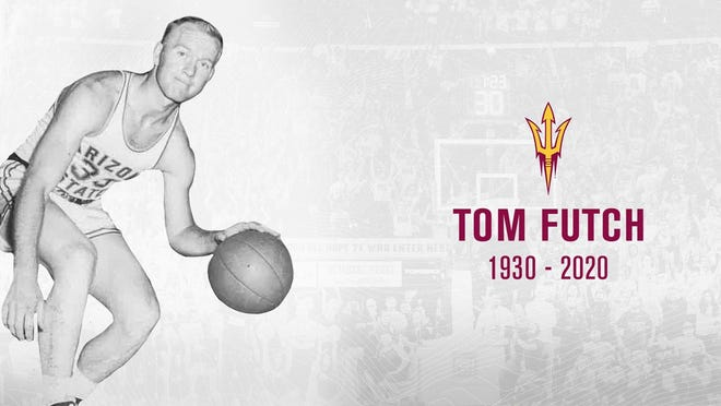Tom Futch, who died Oct. 5 at age 90, was a three-sport athlete at Arizona State and a member of the ASU Athletic Hall of Fame.