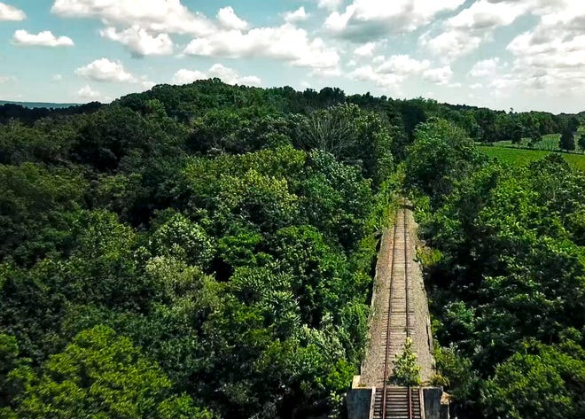 The Shenandoah Rail Trail project, which goes through  Shenandoah and Rockingham counties, will transform an unused single-track railroad corridor from Strasburg to Broadway into a multi-use 38.5 mile trail.