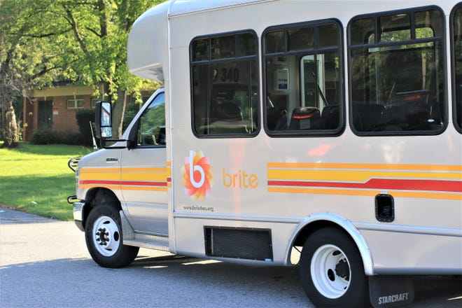 BRITE Bus has been operating fare-free