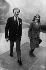 Jill Biden, right, and Joe Biden Nov. 8, 1978.